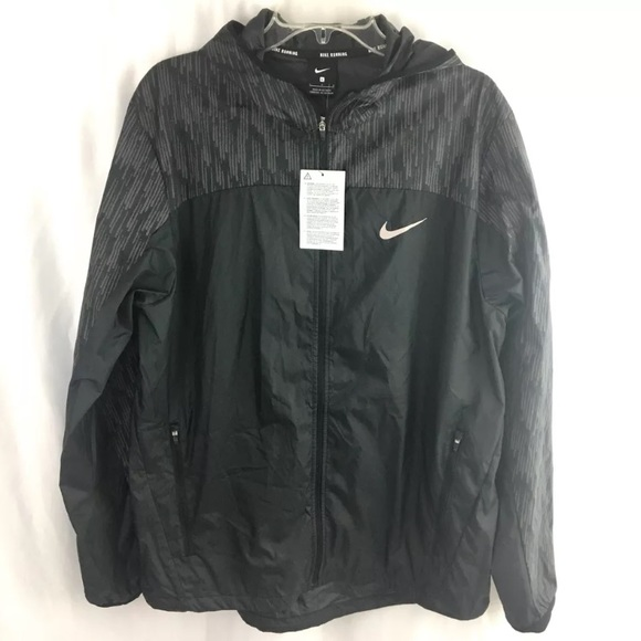 e861b291a57b Nike Shield Flash Running Jacket Mens Lightweight